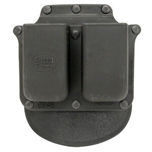 Fobus Roto Belt Pouch Double Mag Fits Glock 10mm/.45ACP Black 6945GNDRP