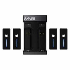 MWM PHASE Ultimate (4 Remotes) Wireless DVS DJ System New!