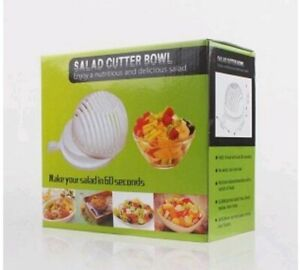 The Salad Cutter Bowl: Make Your Salad In 60 Seconds