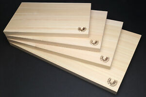 Yoshihiro Hinoki Cypress Anti-Bacterial Japanese Natural Wooden Cutting Board