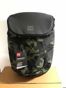 Under Armour Storm Camo Union Lifestyle Backpack Water Resistant 1316575001 Rare