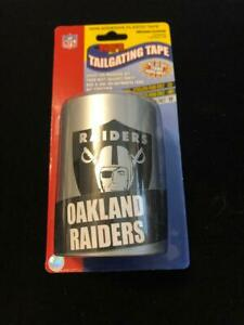 Raiders Tailgating Tape NFL Logo Caution - Oakland - Las Vegas  New 50 Ft. Roll