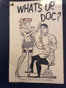 Antique Book 1961 What's Up Doc? By Revilo Snivib