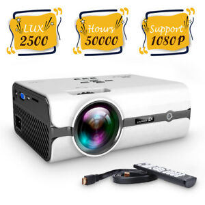 Vankyo Mini Home Theater Projector 2500 Lux 1080p Vedio Cinema For Android IOS