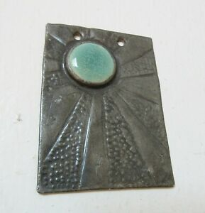 Antique Hand-Made Arts & Crafts Pendant Ruskin