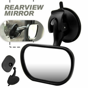 Car Baby Infant Child Back Seat Safety Wide Field Rear View Mirror Suction Mount