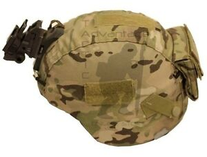 Eagle 75th Ranger MICH Helmet Cover wCounterweight Pocket - Multicam - SMALL