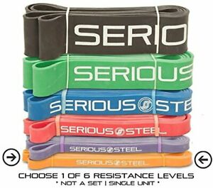 Serious Steel Assisted Pull-Up Band Resistance & Stretch Band  41-inch