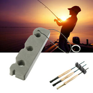 Car Fly Fishing Rod Bracket Fishing Rod Rack Rod Keeper Rod Rest 3 Slot Portable