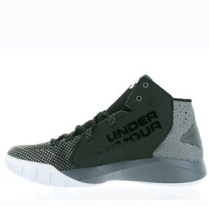 UNDER ARMOUR MEN'S BASKETBALL SHOES TORCH FADE 1274423 003 BLKGPHALU SIZE 14