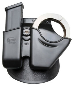 Fobus 9mm Combo Pouch Cuff/Mag Roto Paddle Holster .40 Black Right Hand CU9RP