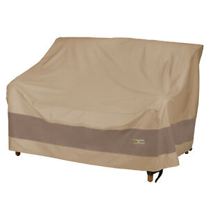 Duck Covers Elegant Waterproof Patio Loveseat Cover
