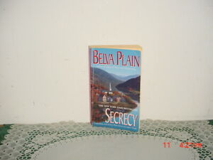 SECRECY PAPERBACK BOOK BY BELVA PLAIN/1998/ORIGINAL/FREE SHIP!