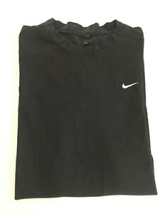 Youth Boys Large Nike Pro Fit Dry Fitted Compression T Tee Shirt Black Large