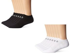 Original Under Armour Mens Charged Cotton 2.0 No Show 6 Pairs Training Socks $17.99