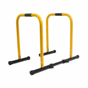 Prosource Fit Adjustable Home Parallel Dip Stand Bar Station Exercise Equipment
