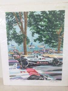 quot;Torontoquot; Limited Edition Serigraph by Randy Owens Signed by Drivers $349.00