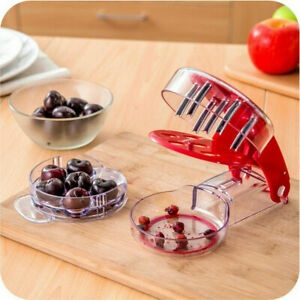 One Step Fast 6 Cherry Pitter Remover Cherry Seed Multiple Cherry Jujube Cutter