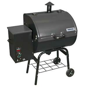 Camp Chef SmokePro STX Wood Pellet Outdoor BBQ Grill and Smoker Black PG24STX