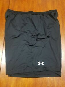 Under Armour heat gear mens Loose fit black shorts size XXL