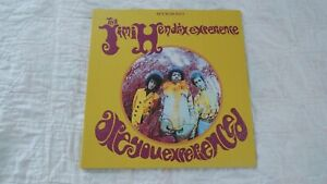 Jimi Hendrix ARE YOU EXPERIENCED 180 Gram LP with booklet