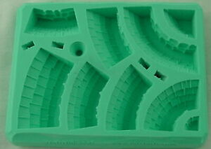 Hirst Arts #087 Slate Conical Roof Fantasy Miniatures Scenery Mold HIR087