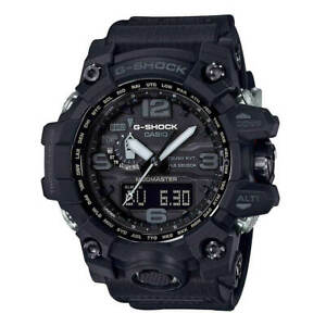 Casio GWG1000-1A1 Men's G-Shock Mudmaster Black Strap Alarm Watch