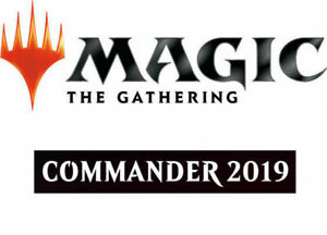 2019 MTG Magic the Gathering Commander Deck SET of 4 Decks SEALED PREORDER!!