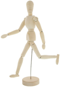 Le Juvo 13 Inch Jointed Posable Wooden Manikin Figure Model for 4336946116