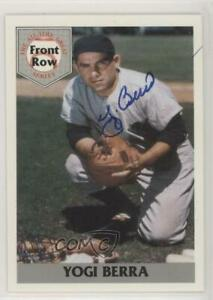 1992 Front Row The All Time Great Series Yogi Berra Autographed #1.2 HOF