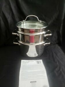 Tramontina 8 Qt. Multi-Cooker With Pasta Insert. Unused!