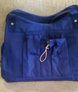 Baggallini Motivate Yoga Tote - COBALT Other Sports Bag NEW