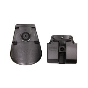 Fobus Polymer Speed Side Paddle Double Mag Pouch for Glock 9/40 Black 6900NDRP
