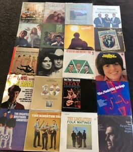 LOT OF (20) NICE LP VINYL RECORD 60'S 70's GROUPS GREAT COLLECTION GREAT ARTISTS