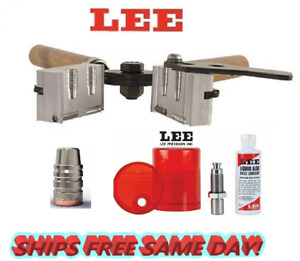 Lee 2 Cav Mold for 38 Spl357 Mag38 Colt NP38 S&W & Sizing and Lube Kit! 90322