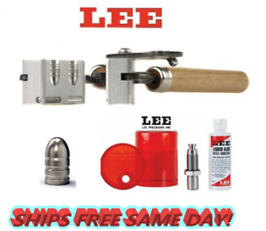 Lee 2 Cav Mold for 38 Spl357 Mag38 Colt NP38 S&W & Sizing and Lube Kit! 90328