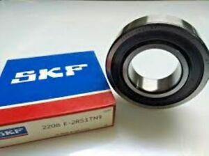 SKF 2208 E 2RS1TN9 Self Aligning Ball Bearing Straight Bore, 40 mm ID, 80 mm