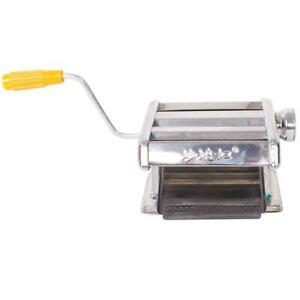 Stainless Steel Fresh Pasta Maker Machine Noodle Fettuccine w/ Hand-cranking NEW