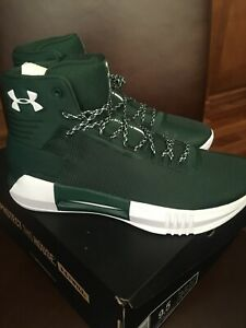 Under Armour UA Drive 4 TB forest Green 9.5 Mens Sneakers Shoes NIB