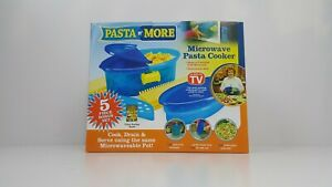 Pasta N' More Pasta Cooking Kit Microwave Pasta Cooker Quick Dinners