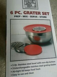 Kitchen Corner 6 piece Grater Set NIB $10.00