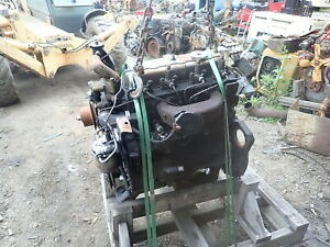 Perkins 4.203 Diesel Engine GOOD RUNNER! 4-203 Massey Tractor Crane New Holland