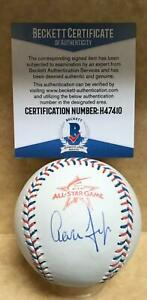 AARON JUDGE YANKEES SIGNED 2017 ALL STAR GAME BASEBALL UNDER LOGO BECKETT H47410 $349.99