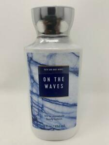 Bath & Body Works On The Waves Body Lotion 8 oz 24 Hr Moisture Coconut Oil Shea
