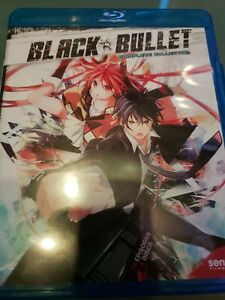 Black Bullet (Blu-ray Disc, 2015, 2-Disc Set)