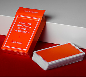 Magic Notebook Deck - Limited Edition (Orange) by The Bocopo Playing Card Compan