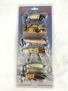Antique Wooden Fishing Lures Christmas Ornaments Beach House Decor Gift 6
