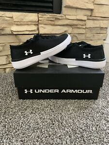 Boy's Under Armour GPS MOJO Casual Shoes Black. size 3 Unisex