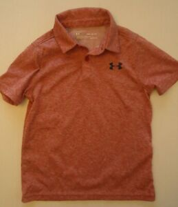 Boys YSM Youth Small S Under Armour Polo Shirt