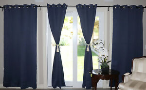 BLACKOUT CURTAIN PANEL 52 INCH WIDE